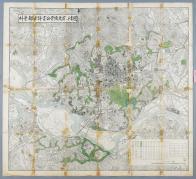 서울도시계획공원변경전계획도