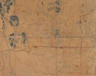 도성대지도(광화문로 주변,18세기 후반)