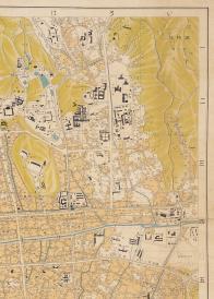 경성시가도(대학로 주변,1933년)