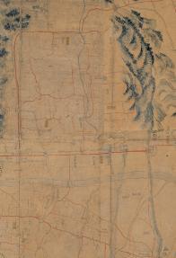 도성대지도(대학로 주변, 18세기 후반)